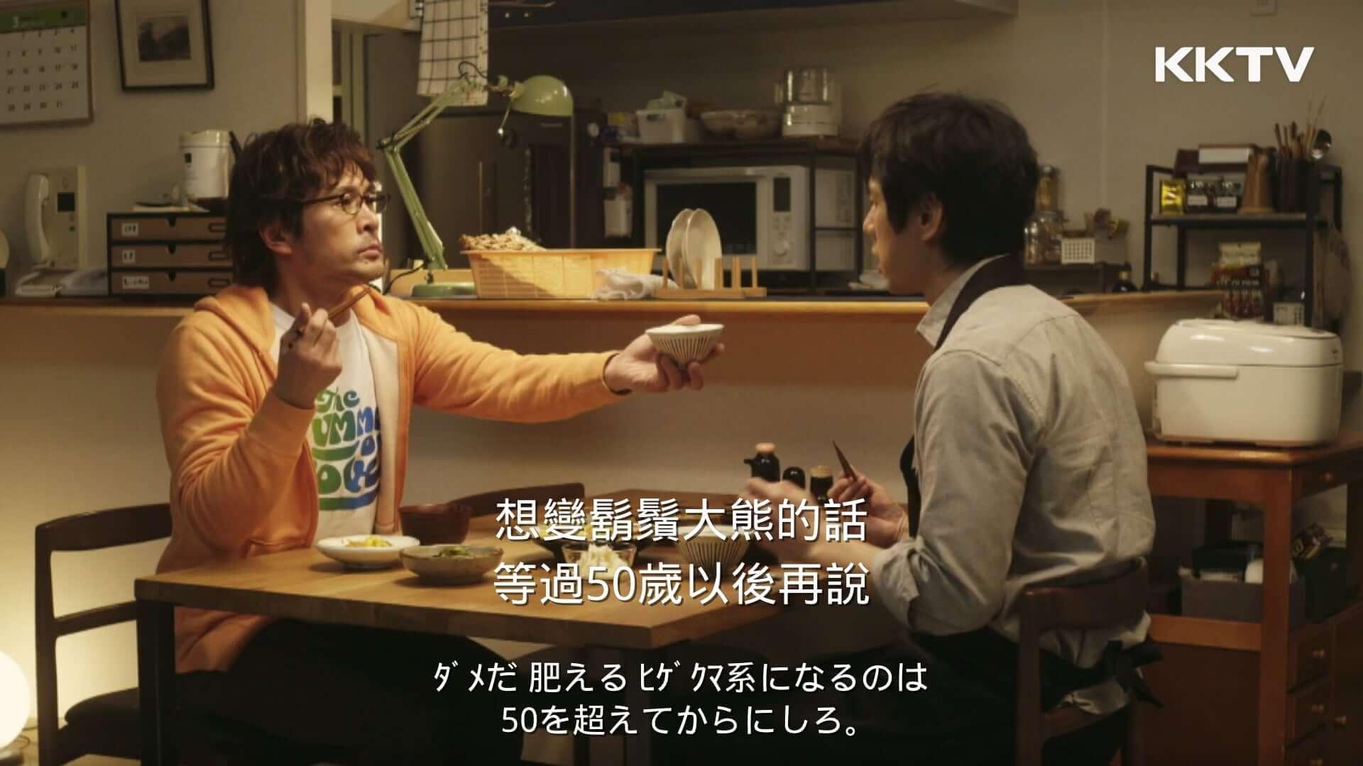 主字幕選擇「中文」,副字幕選擇「日文」,即可如圖呈現雙字幕囉!